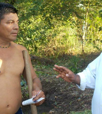 CAMPAÑAS: En la Ribera del Río Hondo, donde está prohibido enfermarse, reclama Gerardo Martínez recursos para la salud