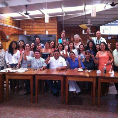 Se reúne Orlando Muñoz con empresarios democráticos en Playa y respaldan su oferta de cambio