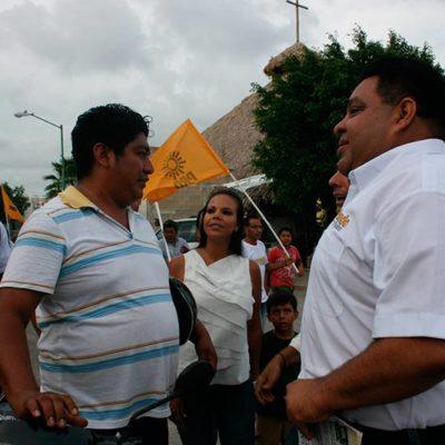 CAMPAÑAS: Colonos piden a Orlando Múñoz mejores servicios públicos y escolares en Playa del Carmen, pero sin cuotas
