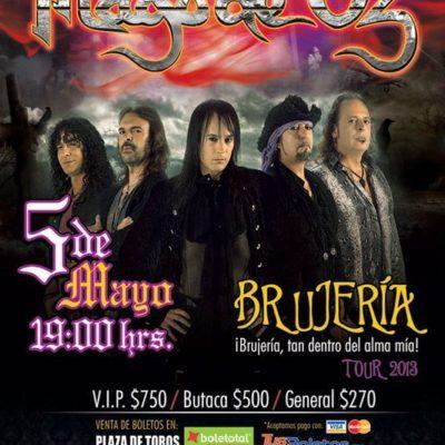 Clausuran Plaza de Toros tras cancelación de concierto del grupo 'Mago de Oz'; hay 1,500 afectados