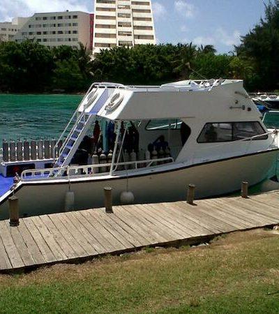 Muere turista sexagenaria de EU mientras buceaba en El Embarcadero de Cancún
