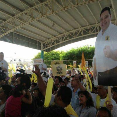 Respaldan playenses y líderes nacionales arranque de campaña de Orlando Muñoz por Solidaridad