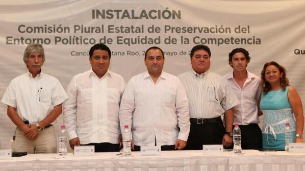 FIRMA BORGE ADÉNDUM EN QR: Se compromete Gobernador con partidos a respetar acuerdos del Pacto por México para garantizar equidad electoral y blindar programas sociales en campañas; ventilan reclamos