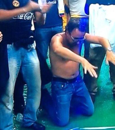EL 'OSO' DE AZCÁRRAGA: El presidente de Grupo Televisa da la 'nota' en el triunfo del América… y lo ridiculizan en redes sociales
