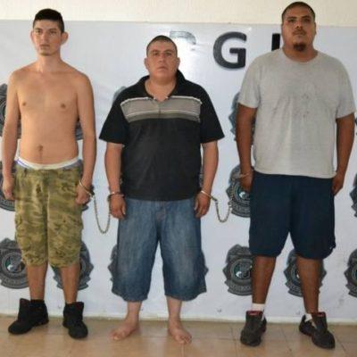 Detienen a 3 narcomenudistas en fraccionamiento Galaxias Guadalupana