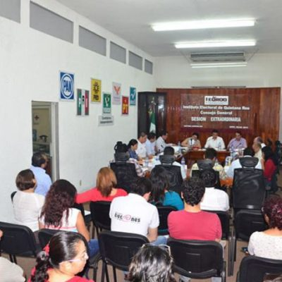 Avala Ieqroo 10 candidaturas independientes a diputados en QR
