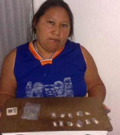 Detienen a narcomenudista en la Región 227