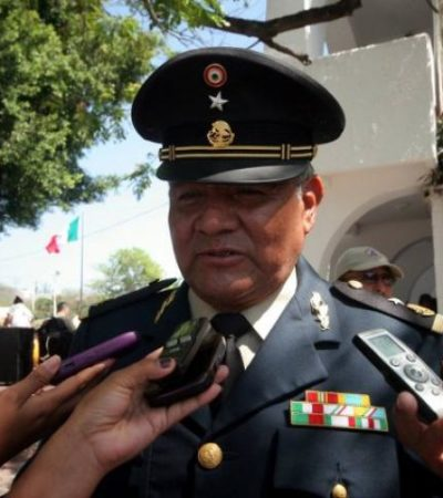 Se reunirán militares con empresarios de Cancún ante crecientes extorsiones