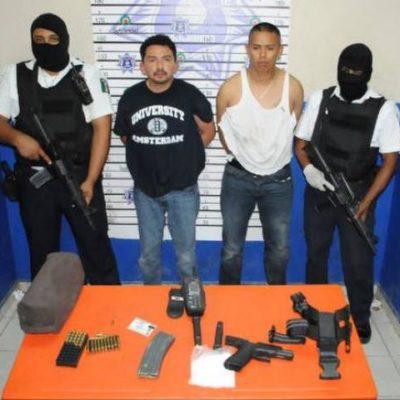 Consignan a empresario y su escolta policiaca por tentativa de homicidio en Playa