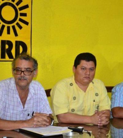 Disuelve PRD comités municipales por no respaldar 'alianza de facto'; es 'golpe de estado', acusan
