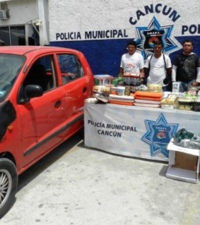 ROBO 'HORMIGA' A COSTCO: Detienen a 5 personas que usaban camión de basura para saquear negocio