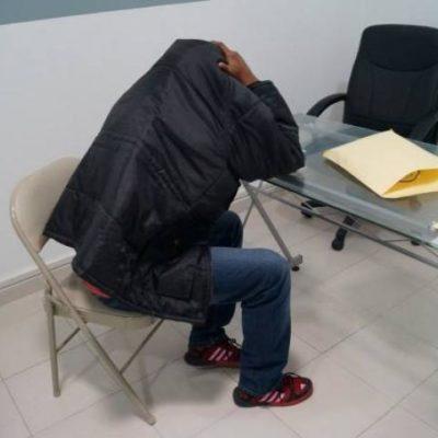 Detienen en el aeropuerto de Cancún a colombiano con 4 kilos de cocaína