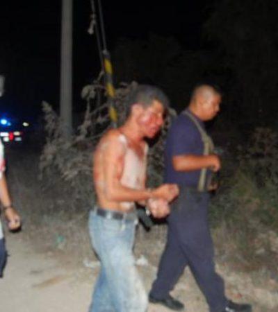 Salvan a hombre de ser linchado tras presunta violación a mujer en Cuna Maya