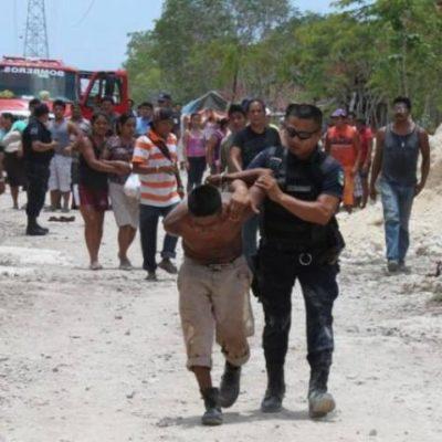 'Batalla campal' entre invasores en Playa deja varios lesionados y una casa incendiada