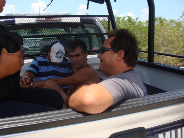 Amplio operativo para detener en Playa a 3 presuntos sicarios, pero no les encontraron nada anormal
