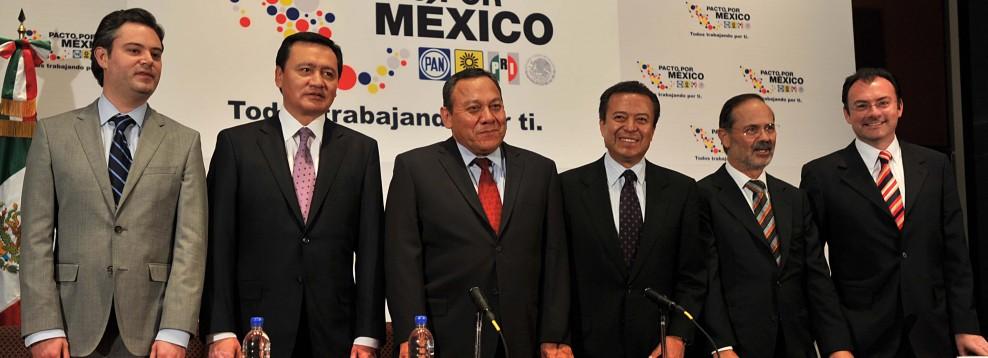 Buscando revitalizar el Pacto por México, crean comisión 'cazamapaches' para garantizar competencia electoral