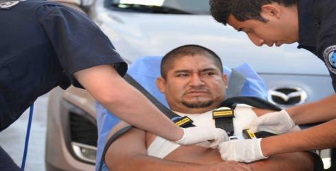 BALACERA EN LA COLOSIO: Hieren a un hombre y a una niña en persecución de judiciales a extorsionadores de 'Los Zetas' en Playa; detienen a 5 y decomisan armas y drogas