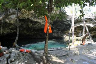 Se ahoga turista canadiense en el cenote 'Chac-Mool' de Puerto Aventuras