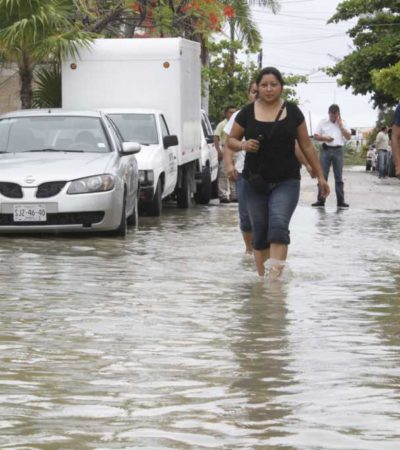 Oficializa Segob declaratoria de desastre natural para municipios de Quintana Roo por lluvias
