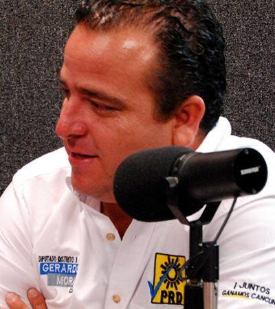 Rompeolas: Se abren posibilidades para el PRD en Cancún y Gerardo Mora se apunta para el distrito 03