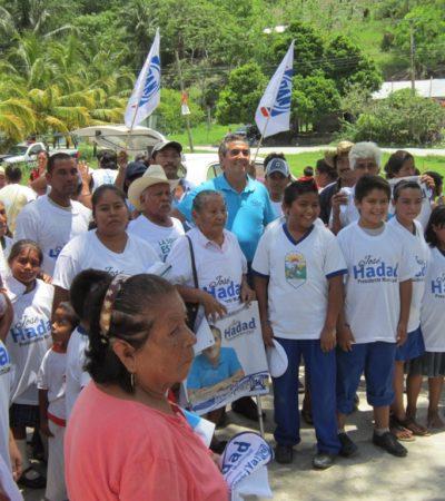 CAMPAÑAS: Se suman perredistas de la Ribera del Río Hondo a la campaña de José Hadad