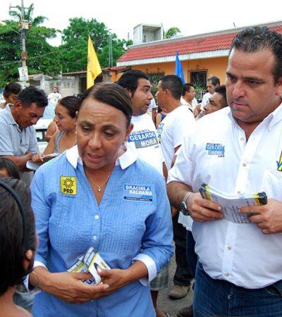 CAMPAÑAS: Mejorar condiciones para la Seguridad, prioridad de Gerardo Mora