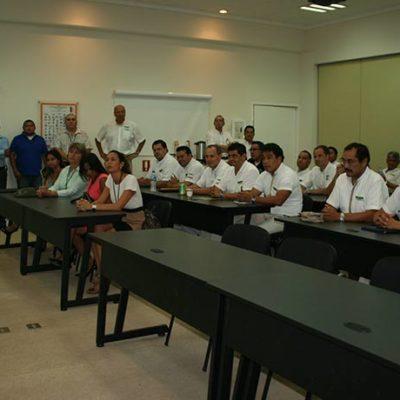 CAMPAÑAS: Grupo Xcaret  escucha propuestas de Orlando Muñoz