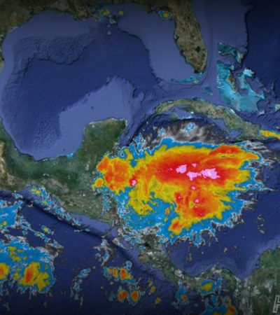 Advierten intensas lluvias por onda tropical 3; afectará más al sur de QR