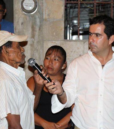 CAMPAÑAS: Piden vecinos a Jorge Aguilar se reduzcan las tarifas de agua potable en Cancún