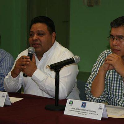 CAMPAÑAS: Se reúne Orlando Muñoz con arquitectos de Solidaridad