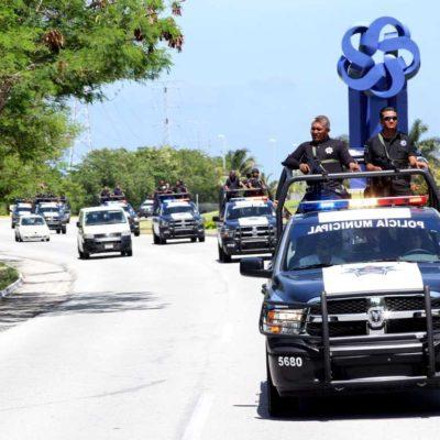 Intensifican vigilancia conjunta policía municipal y Sedena en Cancún