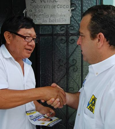 CAMPAÑAS: Se compromete Gerardo Mora a obtener más participaciones federales