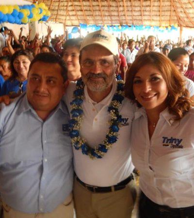 CAMPAÑAS: Da Gustavo Madero respaldo total a la candidatura de Trinidad García en el Distrito XV