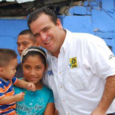CAMPAÑAS: Por una escuela digna se pronuncia Gerardo Mora