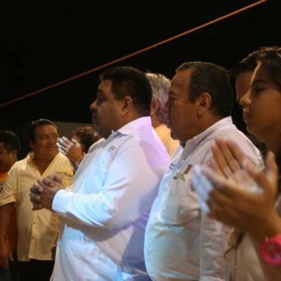 CAMPAÑAS: Más de mil personas y Zambrano abarrotan el domo de La Guadalupana para respaldar a Orlando Muñoz