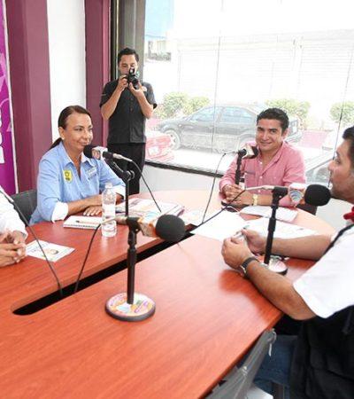 CAMPAÑAS: Se reúne Graciela Saldaña con universitarios en Cancún
