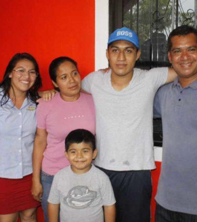 TARDE, PERO HUBO JUSTICIA: Sale libre Christian Vicente, el estudiante del sueter rojo acusado de crimen que no cometió