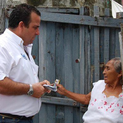 CAMPAÑAS: Apremiante dar certeza en asentamientos irregulares: Gerardo Mora