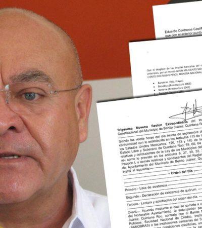 SE LE CAE EL 'TEATRO' A JAIME: Exhiben documentos falsedad de acusación de ex Alcalde interino contra Julián Ricalde por supuesta 'extorsión'