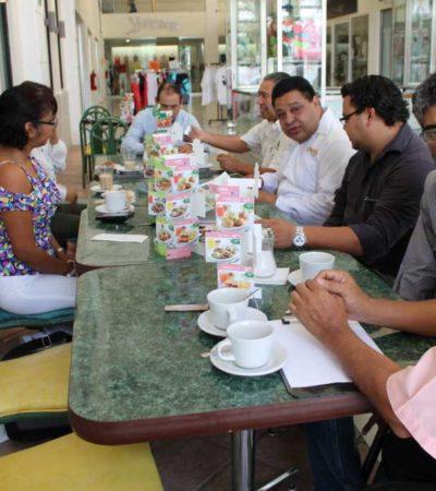 CAMPAÑAS: Sostiene Orlando Muñoz intensa agenda de trabajo en Solidaridad