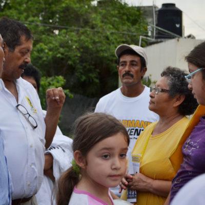 CAMPAÑAS: Presionan a empleados del Ayuntamiento de Tulum para votar por PRI, denuncian ante Armando Ventre