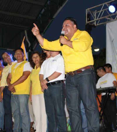 CAMPAÑAS: En la recta final, Orlando Muñoz no pierde el paso para convencer a Solidaridad del cambio