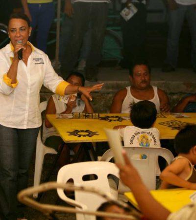 CAMPAÑAS: Segura de su triunfo, Graciela Saldaña convoca a votar