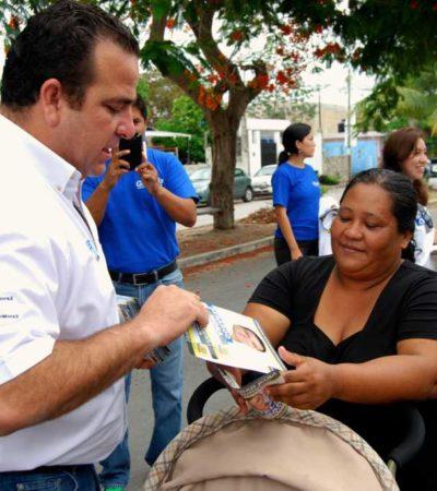 CAMPAÑAS: Gerardo Mora por una mayor equidad en el Congreso del Estado