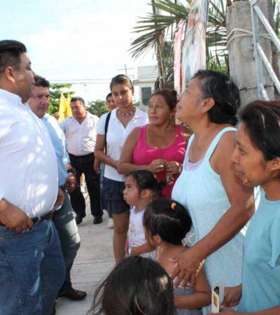 CAMPAÑAS: El poder son ustedes con su voto, les dice Orlando Muñoz a playenses