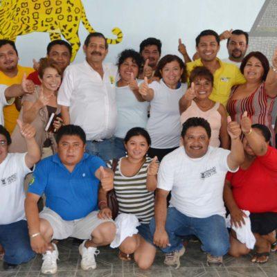 CAMPAÑAS: Maestros de la Zona Maya de Tulum dan su apoyo a Armando Ventre