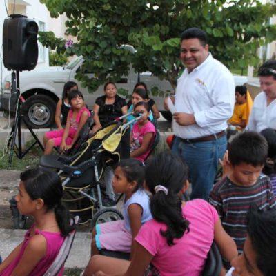"""CAMPAÑAS: Se burla Orlando Muñoz del slogan del candidato Filiberto; """"yo no vengo por más"""", dice a playenses"""