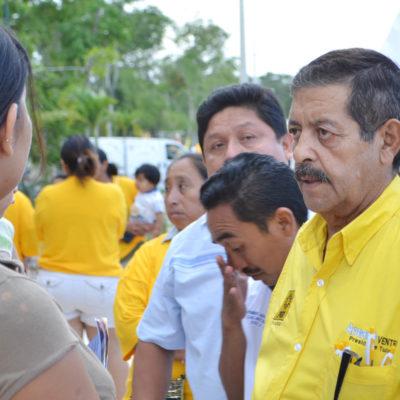 CAMPAÑAS: Se suman más priistas a Armando Ventre en Tulum
