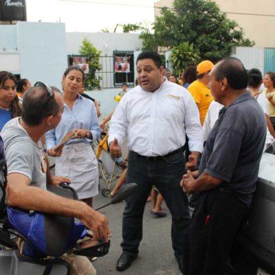 CAMPAÑAS: Le exigen a Orlando Muñoz enfrentar vicios en el Ayuntamiento de Solidaridad