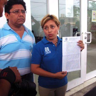 Denuncia candidata panista a diputada en Cozumel presunto intento de extorsión para que se retire de la elección
